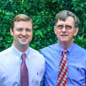 Dr. Eric and William Hall